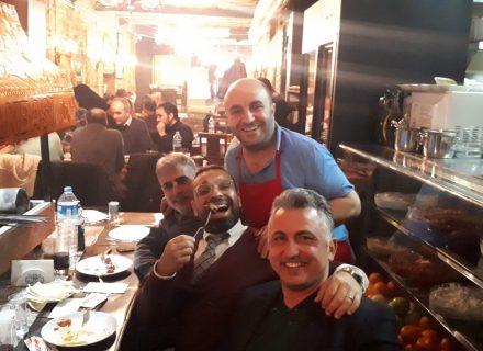 Okan Karacan bey ve arkadaşları bu akşam konuğumuzdu.